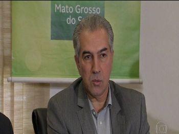 Governador do Mato Grosso do Sul é alvo de busca e apreensão em investigação da PF