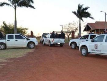 Fazenda onde ocorreu o ataque na noite de ontem. Foto: Porã News