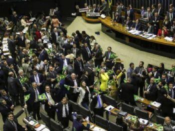 Plenário da Câmara inicia votação da reforma da Previdência (Rodrigues Pozzebom/Agência Brasil)