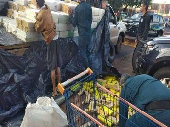 Maconha totalizou 4.990 quilos. (Foto: Adilson Domingos)