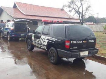 Delegacia de Polícia Civil de Caarapó. Foto: José Carlos