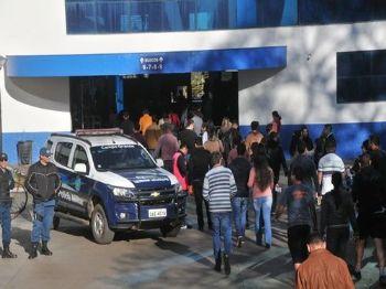 Provas da PM foram realizadas domingo. - Foto: Valdenir Rezende