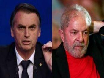 Bolsonaro tem vantagens em pesquisas sem Lula (Reprodução: Veja/Estadão)