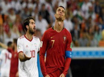 Ronaldo lamenta chance perdida. Foto: JUAN BARRETO AFP