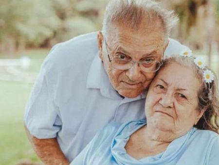 Seu Zé e dona Maria eram casados há 61 anos (Foto: Arquivo Pessoal