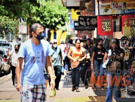 Dourados confirmou 228 casos no último dia. Foto: Hedio Fazan/Dourados News