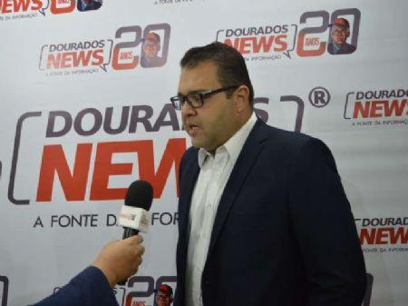 Prefeito eleito falou sobre planos para gestão. Foto: Gizele Almeida