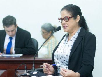 Vereadora Zenaide Espindola. Foto: Assessoria