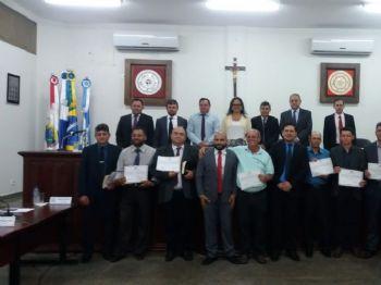 AUTOR DA MOÇÃO DE APLAUSOS, O VEREADOR FLÁVIO DE OLIVEIRA/PSB