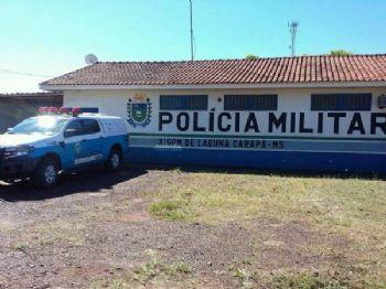 Foto: Google, Polícia Militar de Laguna Carapã