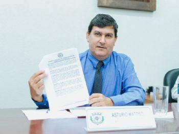 Vereador Astúrio Matoso. Foto: Assessoria