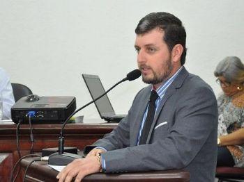 Vereador Eduardo Oliveira do MDB. Foto: Assessoria
