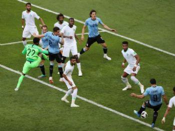 Uruguai e Arábia Saudita, Gol REUTERS/Marcos Brindicci/Marcos Brindicci/Reuters/Direitos reservados