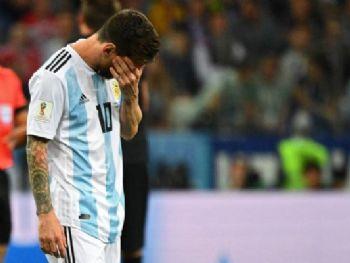 Críticas e vaias se acentuaram contra o astro argentino após tropeço histórico - Foto: Divulgação/Fifa/WCO 18