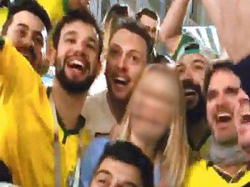 Vídeo de brasileiros assediando jovem russa obrigou nota do Governo Brasileiro - Foto: Reprodução