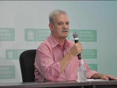 Secretário de estado de Saúde, Geraldo Resende - Foto: Álvaro Rezende/Correio do Estado