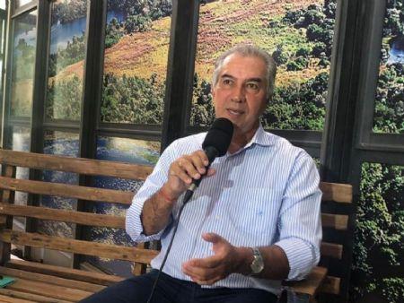 Governador Reinaldo Azambuja (PSDB) prorrogou suspensão das aulas na rede estadual de ensino — Foto: José Aparecido/TV Morena