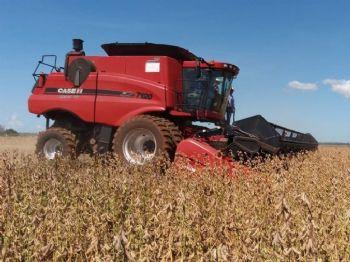 MS colheu nesta temporada 8,800 milhões de toneladas de soja; se fosse país seria o sétimo maior produtor mundial — Foto: Anderson Viegas/G1 MS