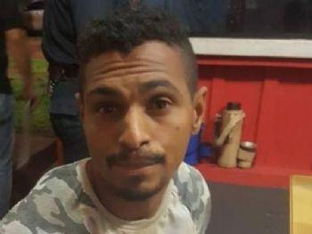 Wellington da Silva é procurado por tráfico no Paraná (Foto: Portal Canindeyú)