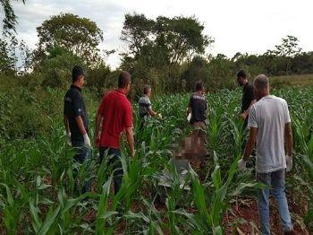 Bruna foi encontrada completamente nua em milharal - Foto: Adilson Domingos/Divulgação