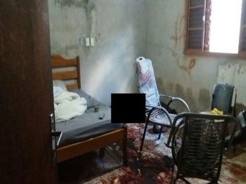 Corpo do homem foi encontrado dentro de um quarto da casa (Foto: 94FM)