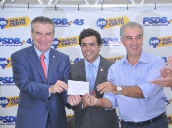 O deputado estadual Paulo Corrêa vai se filiar ao Partido da Social Democracia Brasileira (PSDB) - Foto: Valdenir Rezende/Correio do Estado