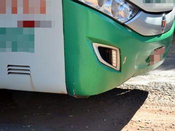 Vítima foi atingida por ônibus nesta madrugada. - Foto: Foto: Jornal O Pantaneiro