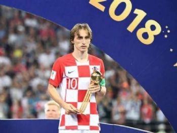 Luka Modric foi eleito o melhor jogador da Copa - AFP