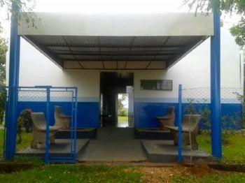 Posto da unidade de saúde na comunidade do Bom Fim. Foto: Divulgação