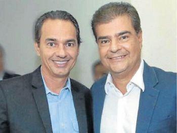 Os irmãos Marcos e Nelsinho Trad deverão fazer aliança com o PSDB para a reeleição de Azambuja - Foto: Arquivo pessoal