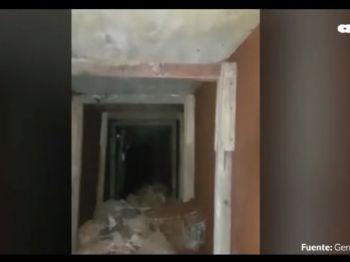 Segundo a polícia, túnel tinha espaço suficiente para três pessoas passarem por ele - Foto: Reprodução/ABC Color