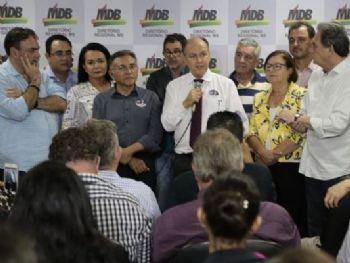 Emedebistas surpreenderam ao anunciar apoio ao PDT (Foto: Minamar Júnior)