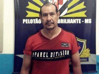 Rulfino Rocha, de 43 anos, foi preso em flagrante e vai responder por feminicídio - Foto: Divulgação