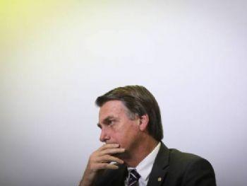 Bolsonaro: Presidente eleito sofreu um ataque a faca durante evento da campanha eleitoral em Juiz de Fora (MG) em setembro (Andre Coelho/Getty Images)