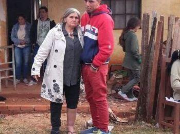 Jovem ao aparecer no próprio velório - Foto: Porã News
