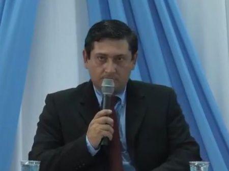 Presidente da Câmara Municipal de Laguna Carapã, Favio de Oliveira.