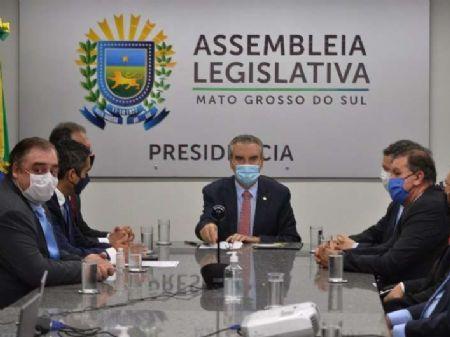 Deputado Paulo Corrêa foi reconduzido à presidêcia da ALMS. Foto: Luciana Nassar/ALMS
