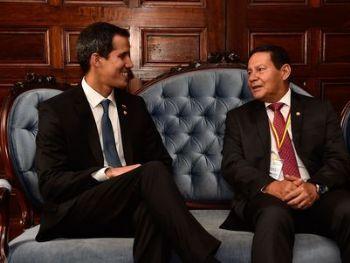 Mourão durante Reunião de Ministros das Relações Exteriores do Grupo de Lima, por Gabriel Cruz/VPR