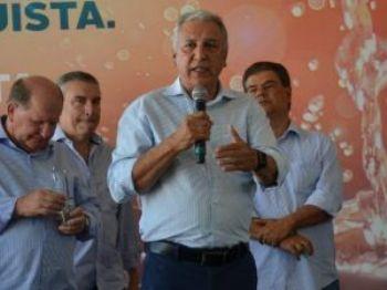 Luiz Rocha assumiu oficialmente o Detran-MS em fevereiro, vindo da Sanesul.  (Foto: Divulgação Sanesul)