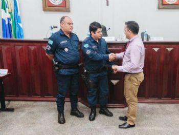 Antônio Vieira da Silva, vereador Milton Gonçalves, o Chapéu e Orvanildo Ribas Godin. Foto: Assessoria
