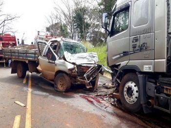 Acidente aconteceu na MS 306 - Foto: Fotos MS Todo Dia