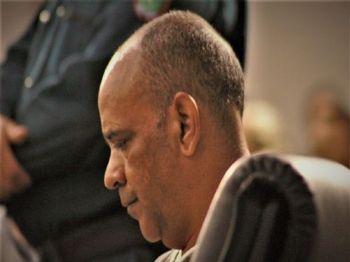 Titinha durante julgamento em Nova Andradina / Imagens: Luis Gustavo/Jornal da Nova