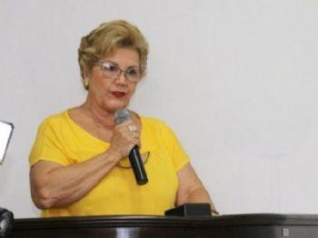Prefeita cassada de Miranda, Marlene Bossay. Foto: Facebook