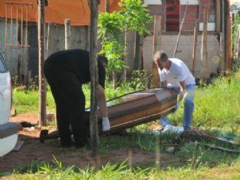Josinaldo da Silva foi encontrado morto em loteamento na região do Maria Aparecida - Foto: Valdenir Rezende / Correio do Estado