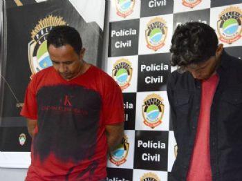 Bruno e Rosival durante prisão em 2016. - Foto: Arquivo/Álvaro Rezende