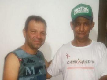 Ganhador da Rifa,  Luiz A. ortiz, de um lindo Kit da Boticário.