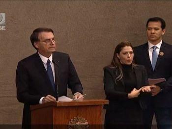 Cerimônia de diplomação de Jair Bolsonaro - Reprodução / TSE