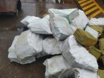 A carga pode pesar mais de duas toneladas de maconha. (Foto: Adilson Domingos)