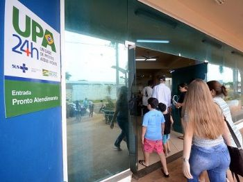 A UPA Coronel Antonino foi uma das vistoriadas - Foto: Foto: Bruno Henrique / Correio do Estado