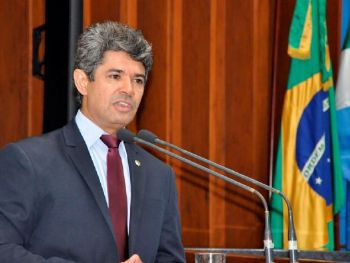 Líder do governo na Casa e autor da matéria, deputado Rinaldo Modesto - Foto: Luciana Nassar